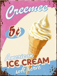 "Kühlschrank Magnet 6 x 8 cm ""American Ice Cream"""