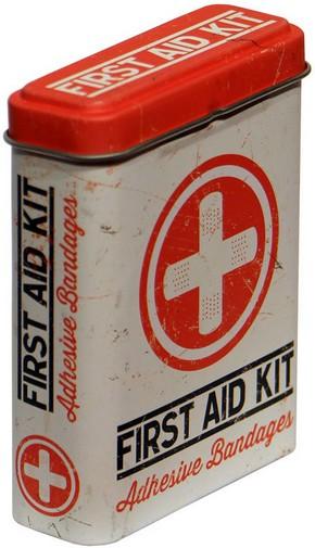 Blechpostkarte Band-Aid Pflaster 10 x 14 cm Blechschild