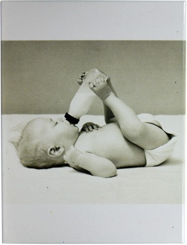 """Kühlschrank Metall Magnet """"niedliches Baby"""""""