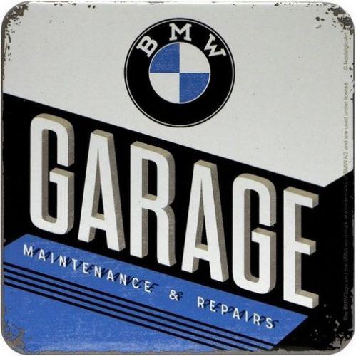 """Untersetzer einzeln """" BMW Garage """""""