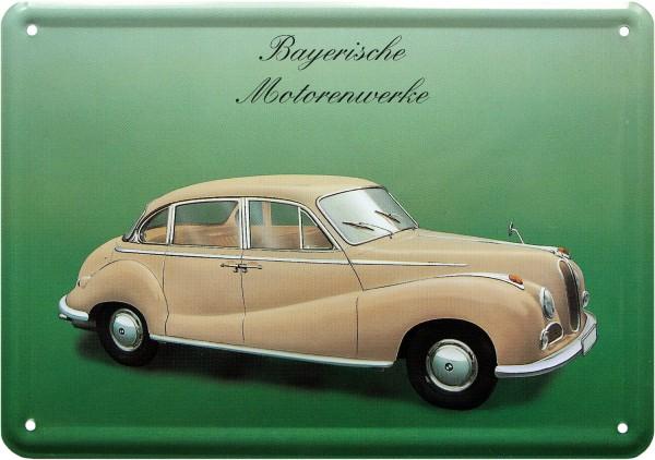 """Blechschild """"Bayerische Motorenwerke BMW"""""""