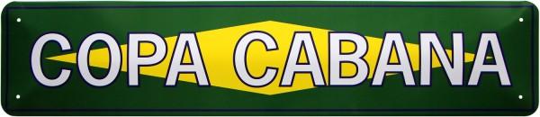 "Straßenschild "" Copa Cabana Brasilien """