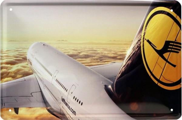 """Blechschild """" Lufthansa """""""