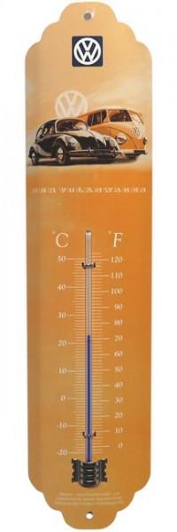 "Thermometer ""VW Käfer und Bulli Bus"""