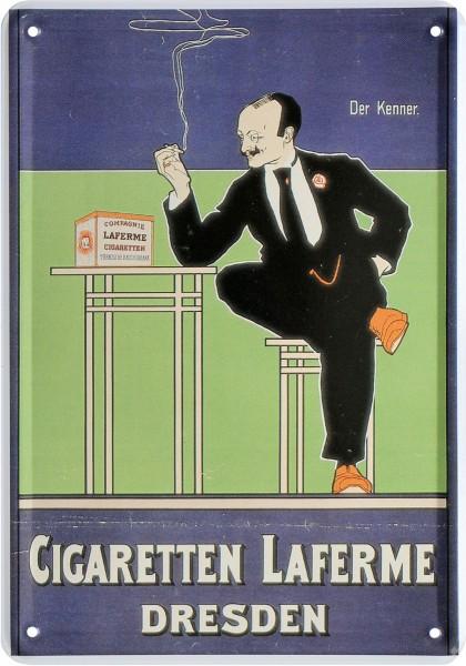 """Postkarte """"Zigaretten Laferme Dresden"""""""