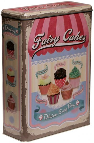"""Vorratsdose XL """" Fairy Cakes Cup Cakes """""""
