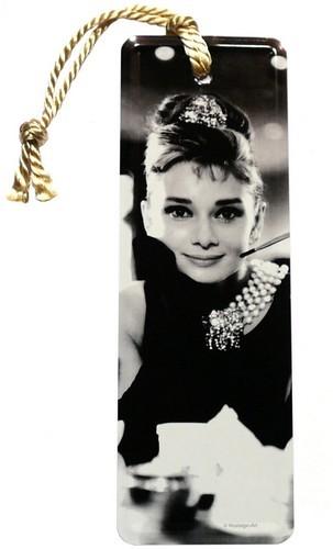 """Lesezeichen """"Audrey Hepburn"""" mit Kordel"""