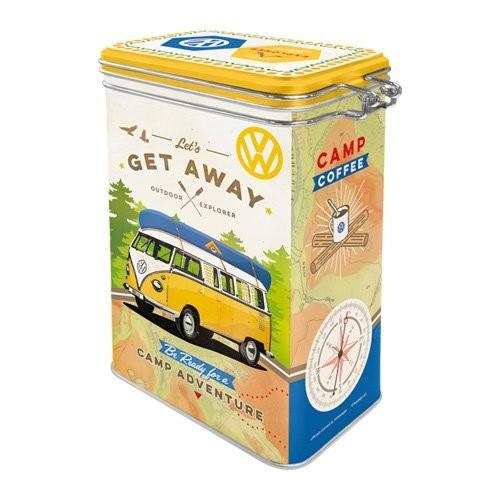 "Vorratsdose Aromaverschluss "" VW Bulli - Get away """