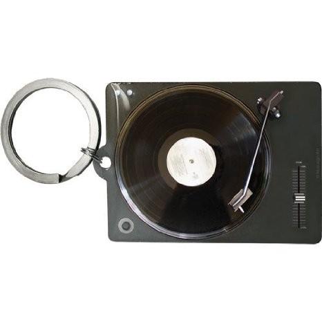 """Schlüsselanhänger - 4,5 x 6 cm """" Retro Wave Retro Vinyl Player """""""