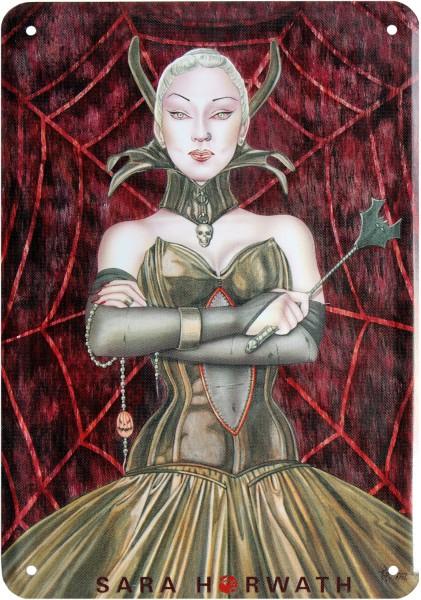 """Postkarte """"Sara Horwath sexy Fantasy Gothik Lady """""""