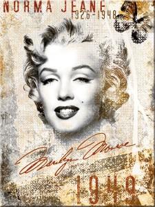"""Kühlschrank Magnet 6 x 8cm """"Marilyn Monroe 1949 """""""
