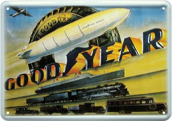 "Postkarte ""Goodyear Reifen Zeppelin """